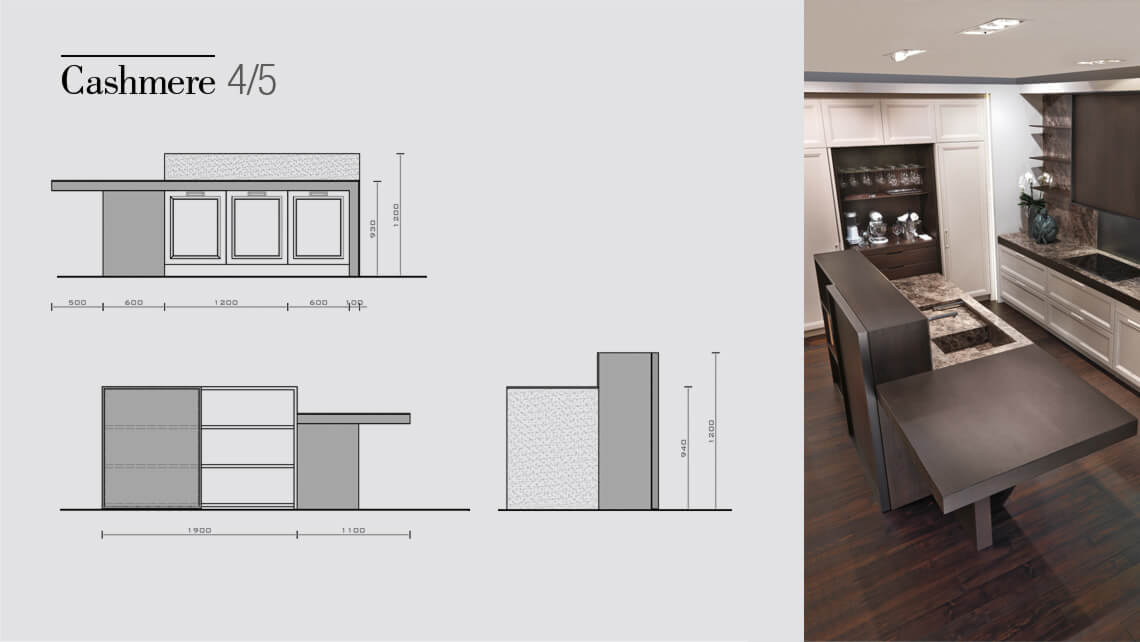 Cashmere Kitchens Drawing
