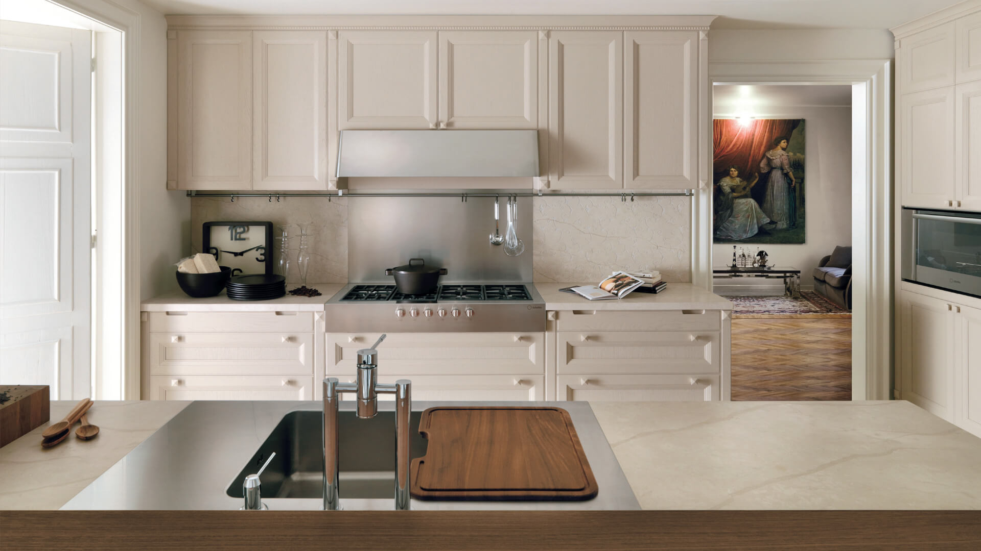 Italian cashmere kitchens modern and classical design for Italian kitchen 2017